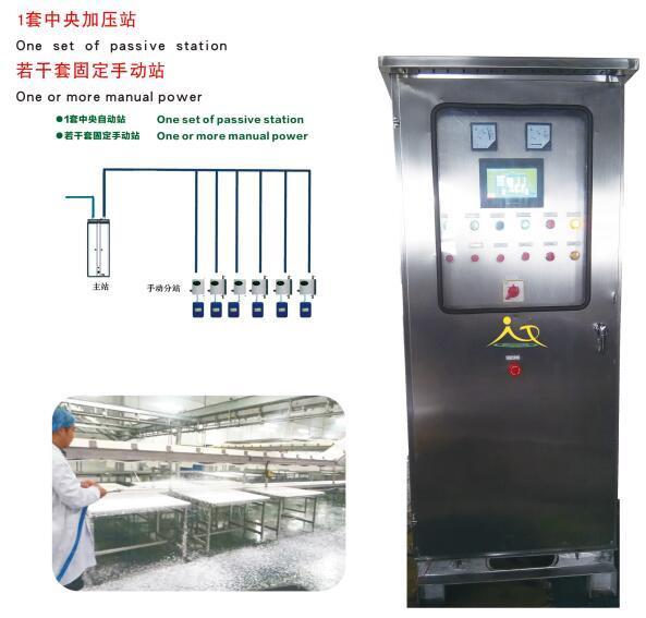 中央清洗系统为什么使用高泡清洗剂