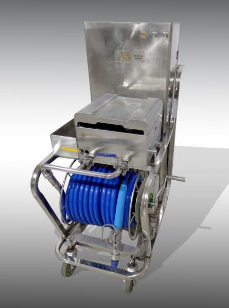 食品行业的清洁神器:移动式泡沫机
