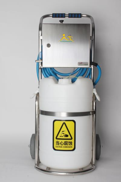 解析移动式泡沫机的五大功能特点